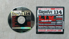 "CD AUDIO MUSIQUE PROMO / VARIOUS ""GROOVE 114"" CD COMPILATION 20T 2007 CARDSLEEVE"