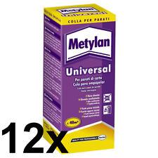 12 x METYLAN Universal Wallpaper Glue Paste 125g