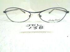 New LUCKY BRAND Eyeglasses Fiona Navy/Grey Cat Eye Shape (JKL-138)