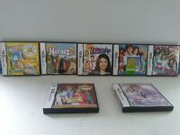 Nintendo DS Lot Of 7 Games Brats Build A Bear I Carly