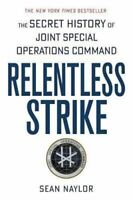 NEW Relentless Strike By Sean Naylor Paperback Free Shipping