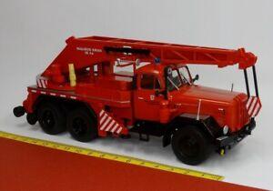 Magirus Deutz Uranus Kw 16 Camion Grue Pompier Brunswick - IXO