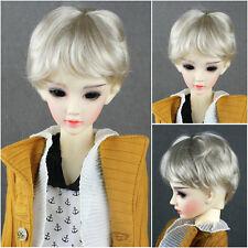 "BW280 6-7"" Blond Wig for 1/6 BJD Yo-SD BB Doll Ellowyne Volks Evangeline Unoa"