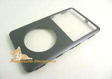 Gray Grey Black Front Faceplate Housing Fascia for iPod 6th Gen Classic 120GB
