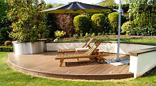Composite Decking Clarity Autumn 50 Square Metre Pack (incl. fixings and screws)