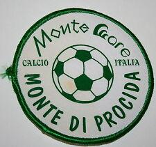 Local Soccer Club Monte Are Calico Italia Di Procida Patch New 1990s Iron on