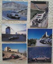 ROLLS ROYCE set of 6 unused stiff glossy postcards - Silver Spirit Spur Corniche