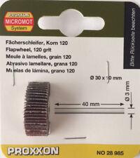 PROXXON Flap Ruota 30mm x 10mm 120 GRANA 28985 202361/direttamente da Attrezzi RDG