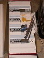 coffret Tableau  electrique legrand 4 ranger 52 modules + porte NEUF