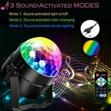 RGB Bühnenbeleuchtung Disco Lichteffekt LED Discokugel DJ Party Fernbedienung