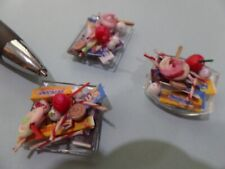 Trick or Treat Candy Dollhouse Miniatures 1:12 Halloween