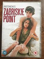 Zabriskie Point DVD 1970 Counter-Culture Cult Movie Classic w/ Pink Floyd Music