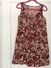 Patagonia Pataloha Sz 4 Drumfire Red Floral Drawstring Limited EdItion Dress