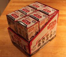 STAR WARS - THE LAST JEDI - 12x BOXES & SEALED - VINYL POP FUNKO - MYSTERY MINIs