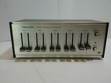 Vintage Realistic Stereo Frequency Equalizer 31-1987