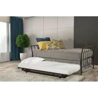 Hillsdale Midland Backless Daybed - Metal Trundle Unit Included