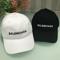 New Golf Baseball Cap Balenciaga² Embroidery Strapback Adjustable Hat Vintage