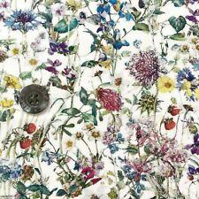 Liberty Tana lawn fabric *Wild Flowers* ~ 42cm wide x 48cm long