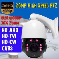 Sony 30X Zoom 2MP 1080P HD-AHD/TVI/CVBS 4'' MINI CCTV High Speed PTZ Dome Camera