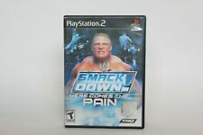 WWE SmackDown! Here Comes the Pain PS2 Playstation 2 - BLACK LABEL - COMPLETE
