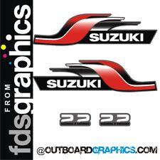 Suzuki 2.2hp 2 stroke outboard engine decals/sticker kit