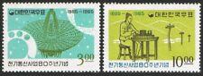 Korea South 481-482,MNH.Michel 503-504. Telegraph service Seoul-Inchon,80,1965