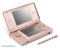 Nintendo DS - Konsole Lite #Metallic Rose + Stromkabel NEUWERTIG