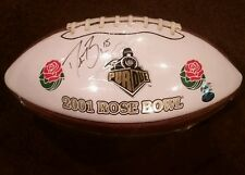 Authentic Drew Brees 2001 Rose Bowl Signed Football