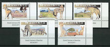Namibia 2017 MNH Small Canines of Namibia 5v Set Foxes Wild Animals Stamps