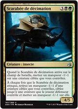 MTG Magic AKH FOIL - Decimator Beetle/Scarabée de décimation, French/VF