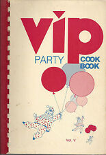 *RICHMOND VA 1983 VIP PARTY VOL V COOK BOOK *VIRGINIA AMERICAN CANCER SOCIETY