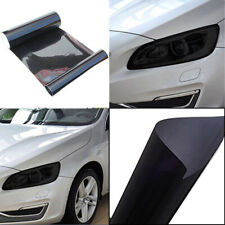 100x30cm Car Headlight Taillight Black Wrap Film Sheet Overlay Cover Car Sticker