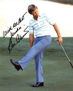 Ben Crenshaw Autographed Signed 8x10 Photo PGA COA CFS Free Shipping