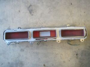 71 1971 Chevrolet Impala  Caprice Taillight Assembly RH Right Side