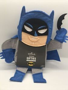 Hallmark DC Batman Gifties Felt Gift Holder NEW!