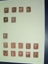 More details for 120 penny reds with some early printings ( 1841 + 1854 )  ++