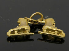 9Carat Yellow Gold 'Ice Skates' Charm (Each Skate Approx 8x8mm)