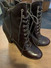 Liz Claiborne~8 M ~Ankle Boots Real Leather ~8M