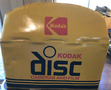 Vintage Kodak Disc Cameras and Film Advertising Bag Excellent
