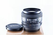 Objectif Nikon Nikkor AF 50mm f/1.4D