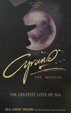 BROADWAY  POSTER-CYRANO THE MUSICAL-ORIGINAL NEIL SIMON THEATRE