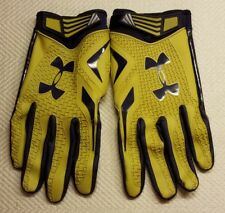 Notre Dame Football ~ Team Issued ~ Player Worn ~ Under Armour Gloves - Size XXL