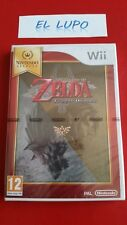 THE LEGEND OF ZELDA TWILIGHT PRINCESS NINTENDO SELECTS WII NEUF SOUS BLISTER VF