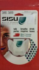 Sisu 1.6 White Aero Guard Adult Mouth Guard Roller Derby Lacrosse Football