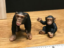*SHIPS FREE* SCHLEICH * CHIMPS * Chimpanzee Male & INFANT Baby