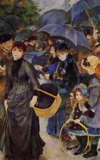 Pierre Auguste Renoir  Les Parapluies  30x19   Canvas Print Unframed