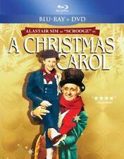 A Christmas Carol (Blu-ray + DVD Disc, 2012, 2-Disc Set) Alastair Sim NEW