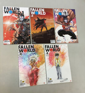 Fallen World 1-5 Set 1 2 3 4 5 Valiant Comics 2019 Rai Bloodshot Eternal Warrior