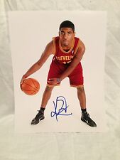 CLEVELAND CAVALIERS KYRIE IRVING SIGNED AUTO BASKETBALL 11X14 PHOTO COA CAVS **