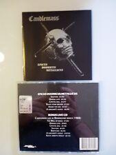 CANDLEMASS - EPICUS DOOMICUS METALLICUS + LIVE À BIRMINGHAM - DOUBLE CD( 2003)